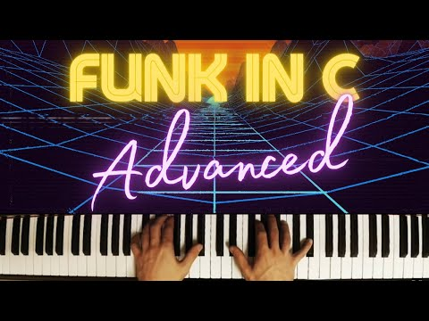 Funky in C - Improvisation │ Blues Piano Lesson #10