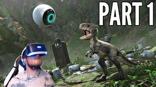 Robinson The Journey Walkthrough Part 1 - VR DINOSAURS & THE JUNGLE! (PSVR Gameplay HD)