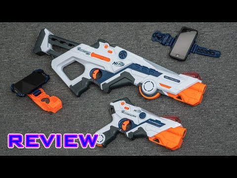 [REVIEW] Nerf Laser Ops Pro Deltaburst & Alphapoint | LASER TAG By NERF!