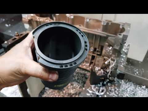 Application of Darton Sleeves on Volvo engine