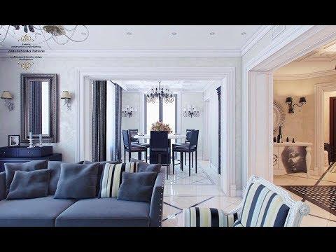 Роскошный дизайн интерьера дома Арт-Деко - Luxury Interior Design Antonchanka Tatiana