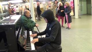 Security Says OK To Play Piano - But No Filming!