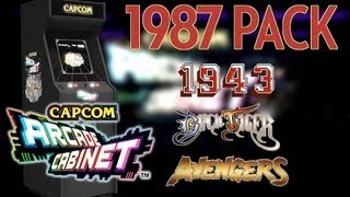 Capcom Arcade Cabinet - 1987 Game Pack [Black Tiger, Avenger & 1943]