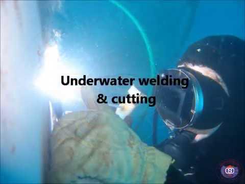 Underwater welding & cutting.wmv