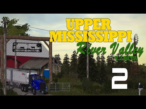 Let's Play Farming Simulator 17 Upper Mississippi River Valley Ep 2