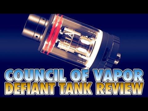 Daily Vape TV - Council of Vapor Defiant Tank Review