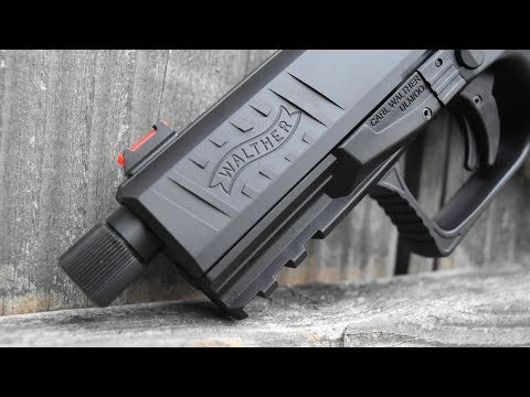 Walther PPQ Q4 Tacical...The Pistol With Rifle Accuracy