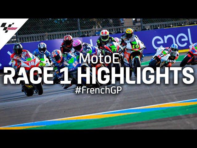 MotoE Race 1 Highlights | 2020 #FrenchGP