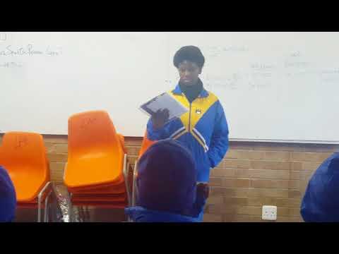 1st Cowan High School Break Time Poetry Session