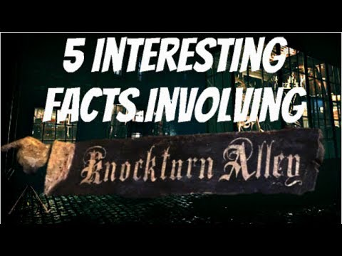 5 Interesting Facts Involving Knockturn Alley - YouTube