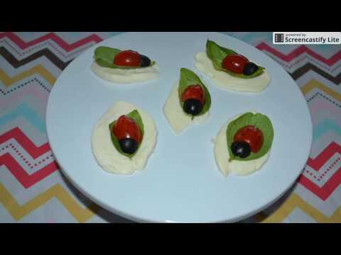 Ladybug Caprese Salad – A Healthy Creative Snack for Kids!!!