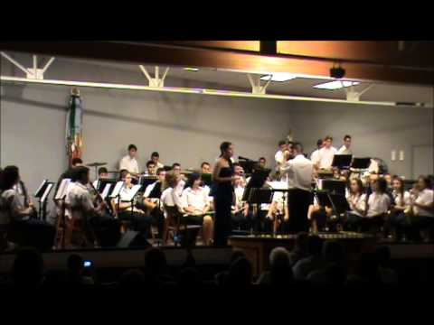 La Union Musical de Agost interpretando El fantasma de la Opera arreglo de Johan de Meij