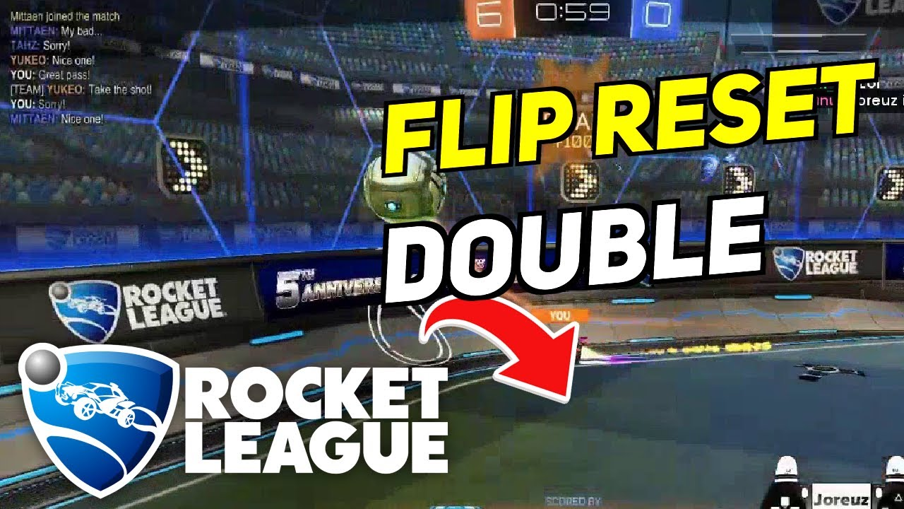 Daily Rocket League Plays: FLIP RESET DOUBLE TOUCH BY SYPICAL