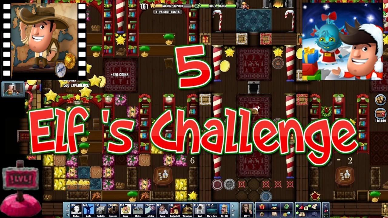 Christmas 2016~] # Elf's Challenge 5 - Diggy's Adventure - YouTube
