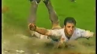 Gol Dejan Gluscevic (MBR) ke Gawang Pelita