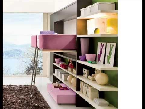 Muebles camas para espacios peque os youtube - Sofas de dos plazas pequenos ...