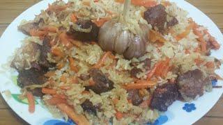 Узбекский плов с бараниной!!!(самый вкусный рецепт плова !!!рассыпчатый)