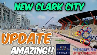 Gambar cover New Clark City UPDATE Construction for 2019 sea games.