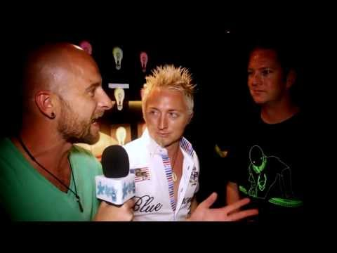 Snake and Dave Lea in Ibiza on Lucky Life TV