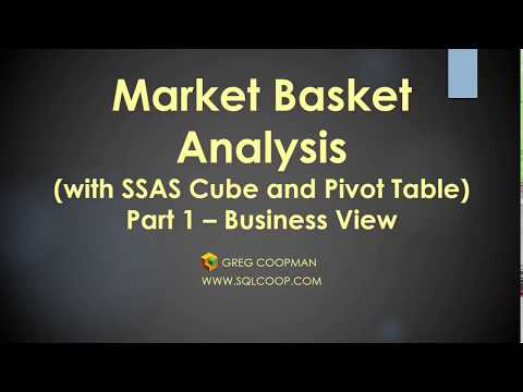 Market Basket Analysis - Part 1 Business View Point