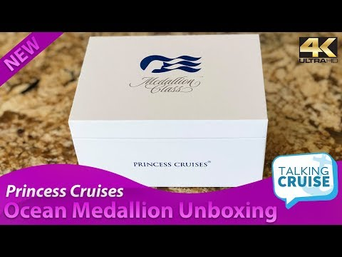 First Unboxing: Ocean Medallion from Princess Cruises
