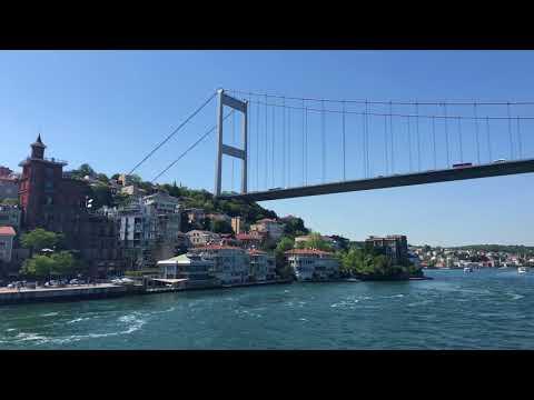 Sailing Istanbul: Bosphorus tour with municipal ferry service 4K