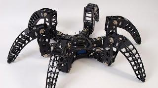 MXPhoenix hexapod robot terrain test