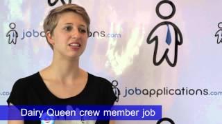 Dairy Queen Interview - Team Member 3