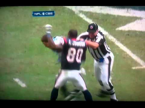 Andre Johnson fighting Cortland Finnegan