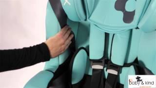 autostoeltje I- Max groep 123 - installatie film bij gebruik met tuigje