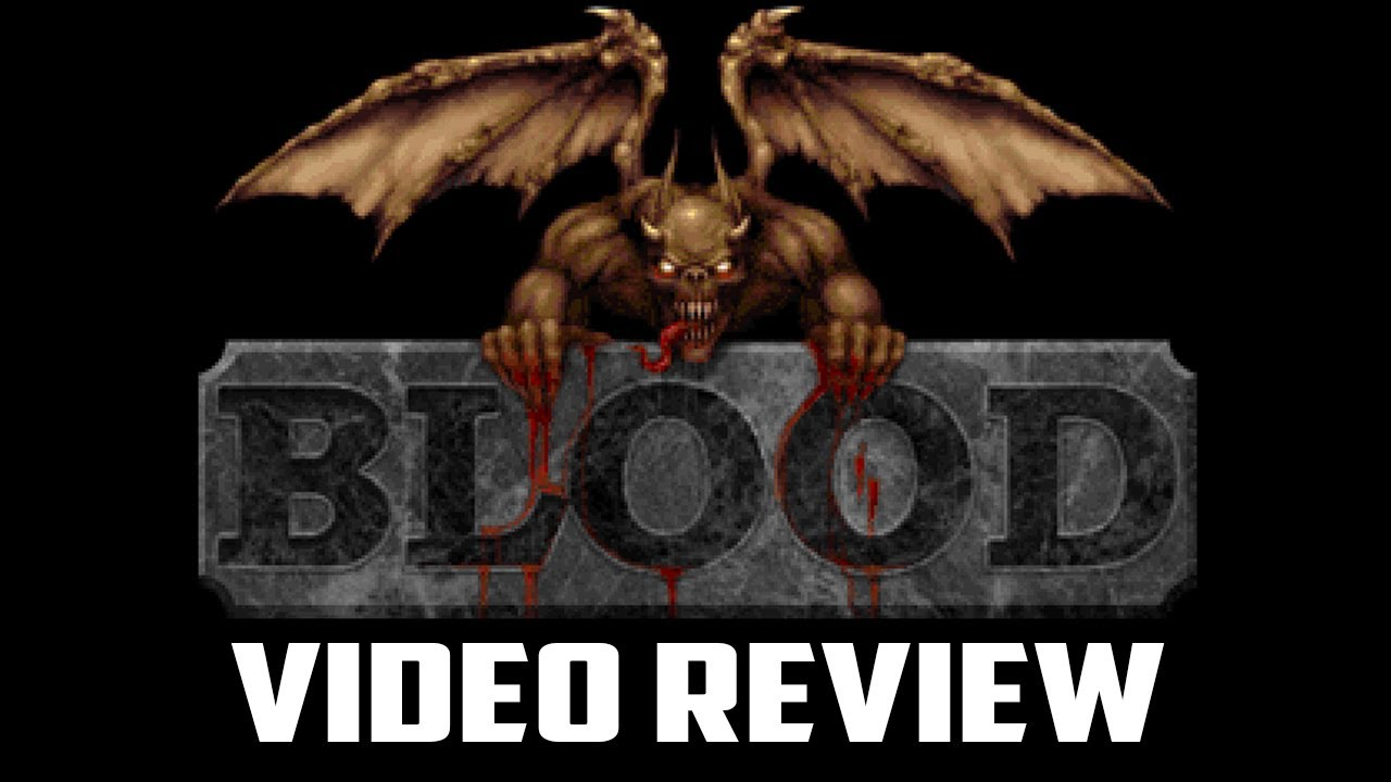 Retro Review - Blood PC Game Review - YouTube
