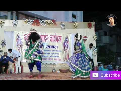 Mithi mithi murli bajai maro Mohan song dance !! Dusehara Function !! Allahabad