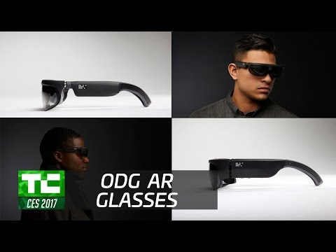 ODG unveils its first consumer AR glasses at CES 2017
