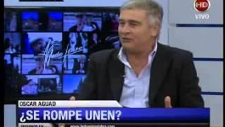 Oscar Aguad con Leuco