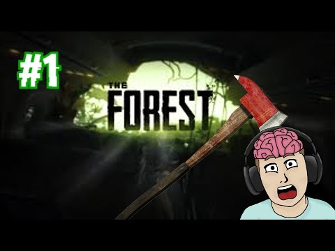 THE FOREST Part 1 | How do I drink water?!