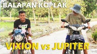 """Balapan Koplak """" Vixion Vs Jupiter """" FILM PENDEK CAH LAMONGAN"""