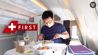 Alone in Swiss First Class - Zürich to Montreal