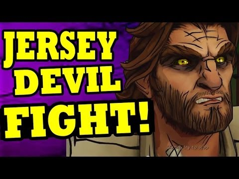 "The Wolf Among Us Episode 4 JERSEY DEVIL FIGHT ""Wolf Among Us In Sheeps Clothing"""