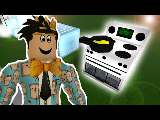 I Made A Bloxburg Oven House Youtube