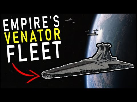 The Imperial Fleet that used only CLONE WARS Ships (... and was awesome)   Star Wars Legends