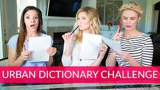 Urban Dictionary Challenge