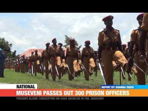 #PMLive: Museveni Passes Out 300 Prison Officers