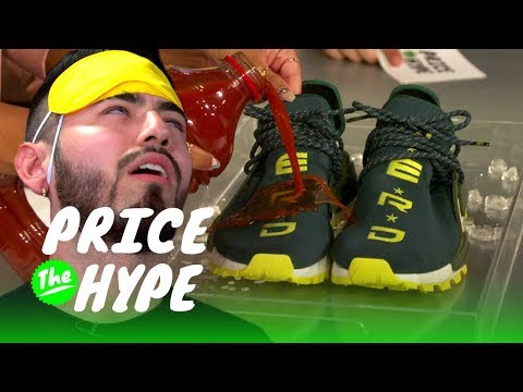 Can This Sneakerhead Save His Pharrell Adidas NMDs From Destruction? I Price the Hype