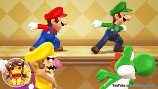 Mario Party 9 - All Free-For-All Minigames [1080p] No commen...