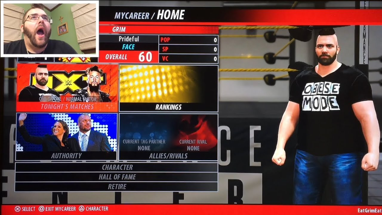 how to make a diva in wwe 2k16 my career