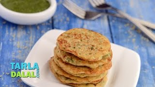 Bulgur Wheat Pancake (Calcium & Protein Rich Recipe for Pregnancy) by Tarla Dalal