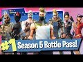 Download Fortnite Season 5 Battle Pass (Skins, Gliders + More!)
