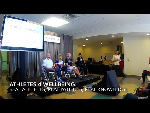 Athletes 4 Wellbeing: Real Athletes, Real Patients, Real Knowledge