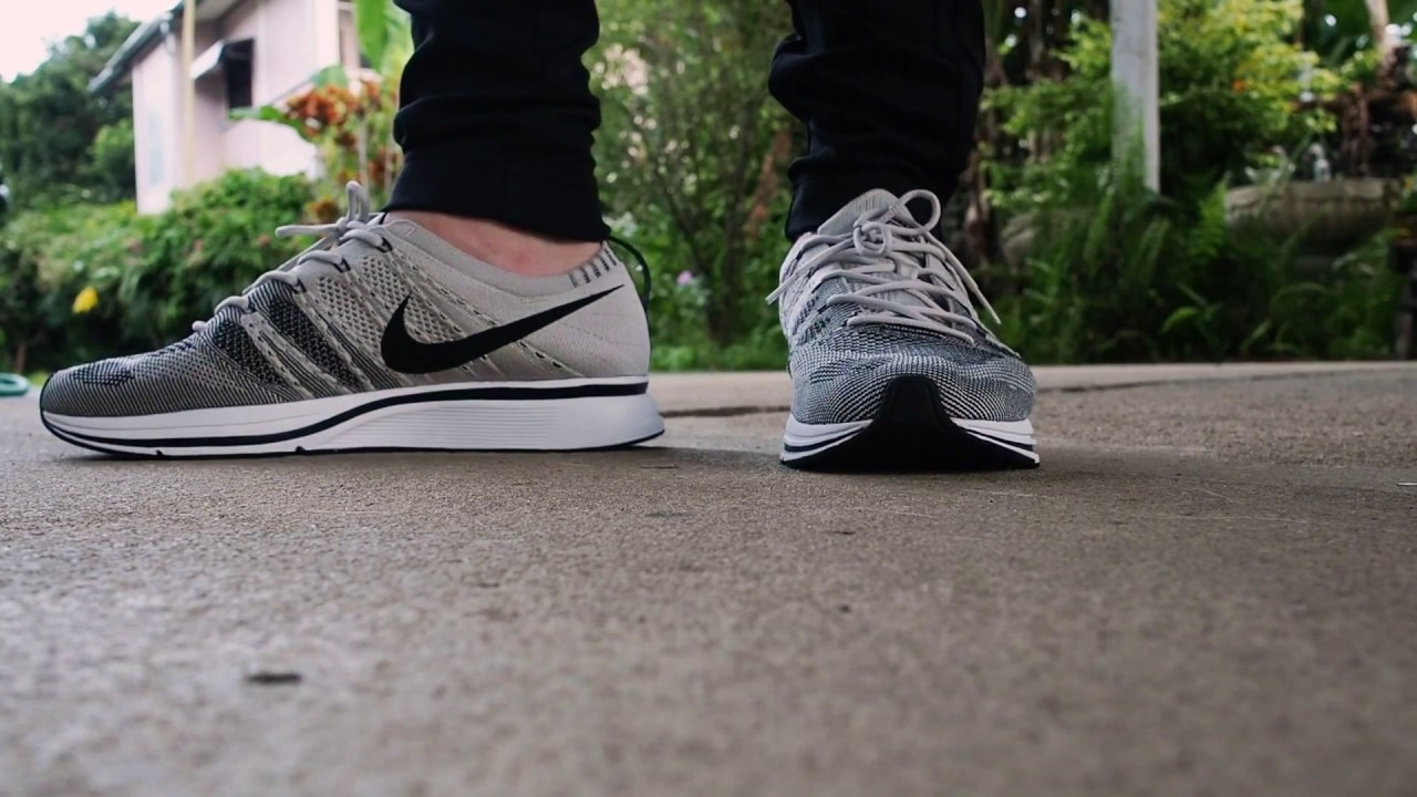 eaf69370ddfadd Nike Flyknit Trainer Pale Grey - YouTube