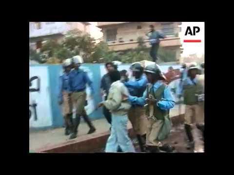 Bangladesh - Anti-Government Protest